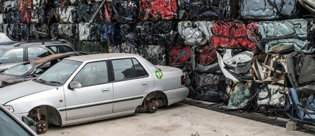 Scrap dealer car yard